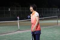 櫻園のマリリン♪寒いナイターでも、テニスで程よく汗ばむ運動!