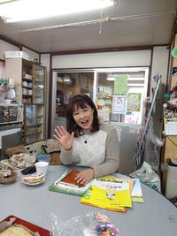 今日は劇団そらのゆめの川村ミチルさんが来てくださいました