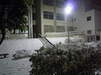 雪化粧@豊田高専 ver.夜