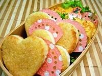 10/25 *。☆かわぃッ。*☆ハ~トの2種トースト弁当☆ 2012/10/25 08:01:15