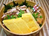 11/2 秋味…秋刀魚の混ぜご飯のお弁当☆ 2012/11/02 08:48:42