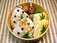 11/8 金目鯛飯おにぎりde和風わっぱのお弁当☆ 2012/11/08 08:49:42