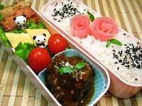 11/15 煮込みハンバーグと甘酢しょうがde薔薇弁当☆ 2012/11/15 11:24:54
