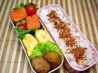 12/4 キティの肉巻きとチーズ玉子焼きのお弁当☆ 2012/12/04 09:06:23