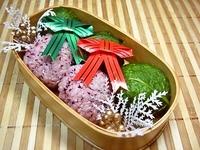 12/20 和風クリスマスなおにぎり弁当☆