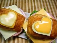 2/5 バレンタイン*☆かわぃッ*☆ハ~トのサンド弁当☆