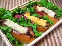 2/21 チーズをのせた焼肉サンドの弁当☆