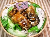3/5 美味しい牡蠣のオイスターソース炒め丼弁当☆