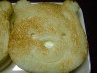 可愛い☆プ~さんのサンドイッチ