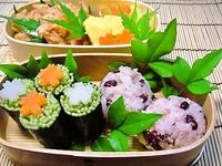 6月20日 茶そば海苔巻きde天そばセットのお弁当☆ 2011/06/20 07:30:00