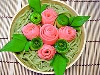 7月2日 かまぼこde薔薇のさっぱり茶そば弁当☆ 2011/07/02 08:40:52