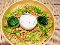 7月8日 かまぼこde薔薇入り台湾風冷麺のお弁当☆ 2011/07/08 07:15:00