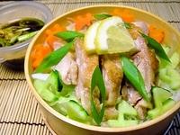 7月14日 若鶏のソテーdeサラダビーフンのお弁当☆ 2011/07/14 07:07:18
