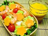 7月20日 エビとトマトde冷製パスタのお弁当☆ 2011/07/20 07:00:28