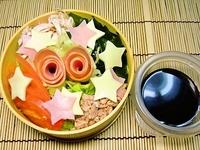 8月6日 野菜たっぷりのサラダラーメンのお弁当☆ 2011/08/06 06:58:18