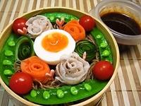 5月30日 カラフル野菜de巻き巻き韓国冷麺弁当☆ 2012/05/30 07:03:13