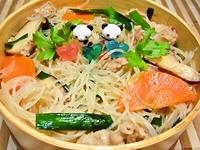 6月8日 結果麺週間(笑)野菜たっぷり塩麹焼ビーフン弁当☆ 2012/06/08 06:15:28