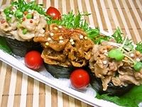 6月9日 ど~んと3種の彩り焼肉おにぎり弁当☆ 2012/06/09 07:54:37