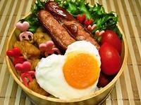 6月12日 ど~んと塩麹de鶏ムネのカレー炒め煮丼弁当☆ 2012/06/12 06:51:33