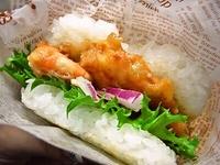 6月14日 2種のハ~トのライスバーガーのお弁当☆ 2012/06/14 08:42:35