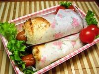 6月22日  食パンで簡単ウインナ~ロールの弁当☆ 2012/06/22 07:58:44