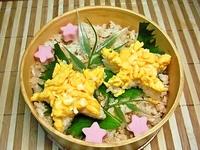7月4日 七夕週間☆カワイィ☆星のそぼろご飯の弁当☆ 2012/07/04 07:44:30