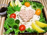 8月5日 生搾りレモン醤油deサラダうどんのお弁当☆ 2012/08/05 08:10:03