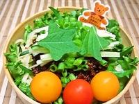 8月8日 たっぷり野菜deピリ辛ジャージャー麺のお弁当☆ 2012/08/08 08:58:34
