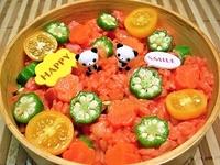 8月24日 フレッシュ野菜de夏のチキンライスのお弁当☆ 2012/08/24 08:26:07