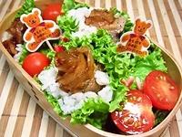 8月30日 2種のバラ肉de薔薇焼肉の手巻き弁当☆ 2012/08/30 07:33:12