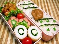 9月12日 鶏のピリ辛焼きとかわぃぃお花おかずのお弁当☆ 2012/09/12 07:45:30