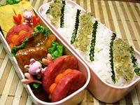 9月28日 ど~んと味噌照り焼きのご飯が進むお弁当☆ 2012/09/28 07:41:52
