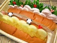2月10日 バレンタイン 鶏むねとりんごのハ~トサンド弁当☆ 2012/02/10 23:00:21