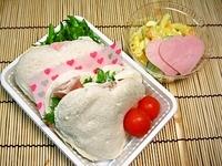 3月12日 ふんわり食パンdeハ~トサンドなお弁当☆ 2012/03/12 10:51:42