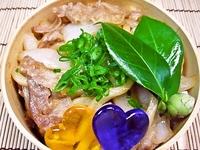 3月14日 新玉ねぎ入り豚生姜焼きうど~んのお弁当☆ 2012/03/14 09:39:49