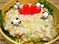 3月19日 塩麹入り旨みたっぷり鶏そぼろ麺弁当☆ 2012/03/19 09:38:51