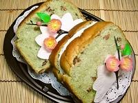 3月28日 春・抹茶あずきパンの生クリームサンド弁当☆ 2012/03/28 10:53:42