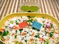 4月23日 短時間お昼休みの混ぜご飯のお弁当☆ 2012/04/23 09:54:45