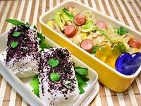 5月7日 今日も簡単…焼ビーフン&俵おにぎりのお弁当☆ 2012/05/07 06:42:20