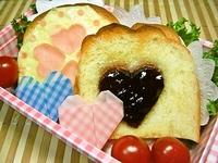 5月10日 可愛いハムチーズとシュガ~トーストのお弁当☆ 2012/05/10 08:21:34