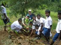 スリランカの子どもたち