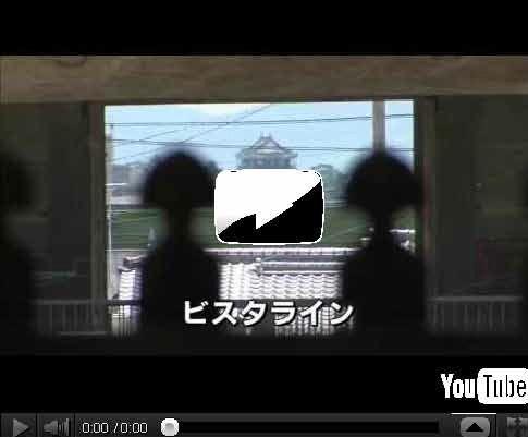 映像ギャラリー「大樹寺から岡崎城への眺望(ビスタライン)」