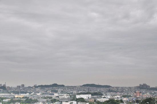 岡崎中央総合公園からの眺望