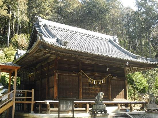 歴史が感じられる関山神社(藤川小学校フォト⑫)