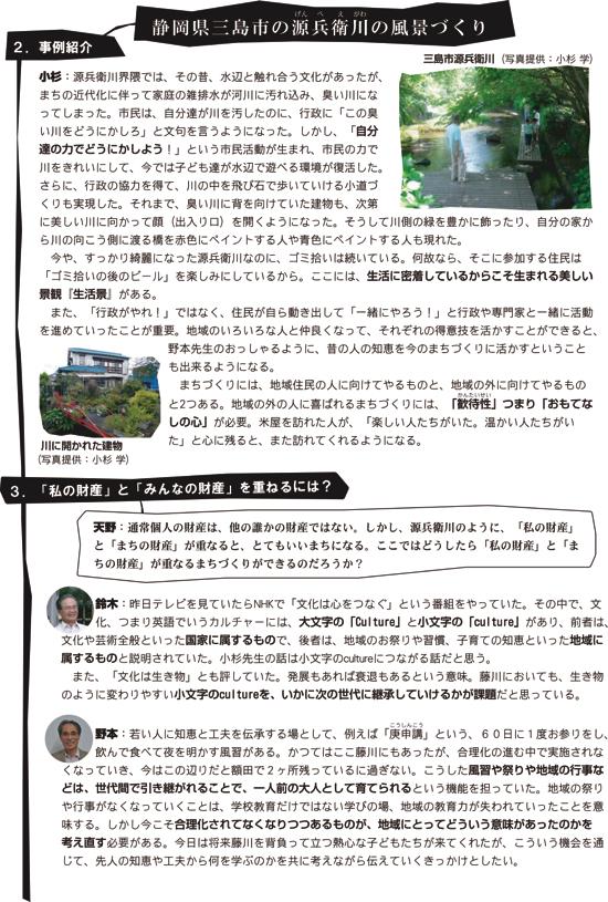 米屋通信1〜藤川宿米屋活用フォーラムその6