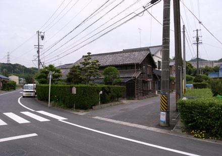 藤川宿-曲手(かねんて)