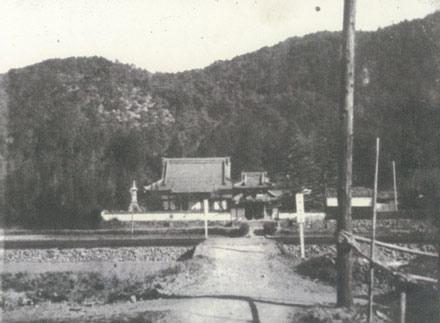 東海道藤川宿徳性寺