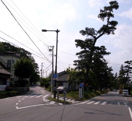 藤川宿-吉良道道標