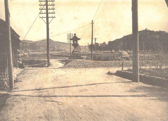 藤川むかし写真館⑱市場町東端からの眺望