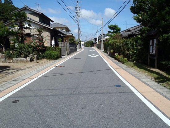 藤川東海道(景観と安全)